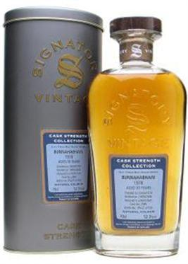 Bunnahabin Single Malt 1978 Bottled By Signatory